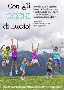 """""""Con gli OCCHI di Lucio"""""""