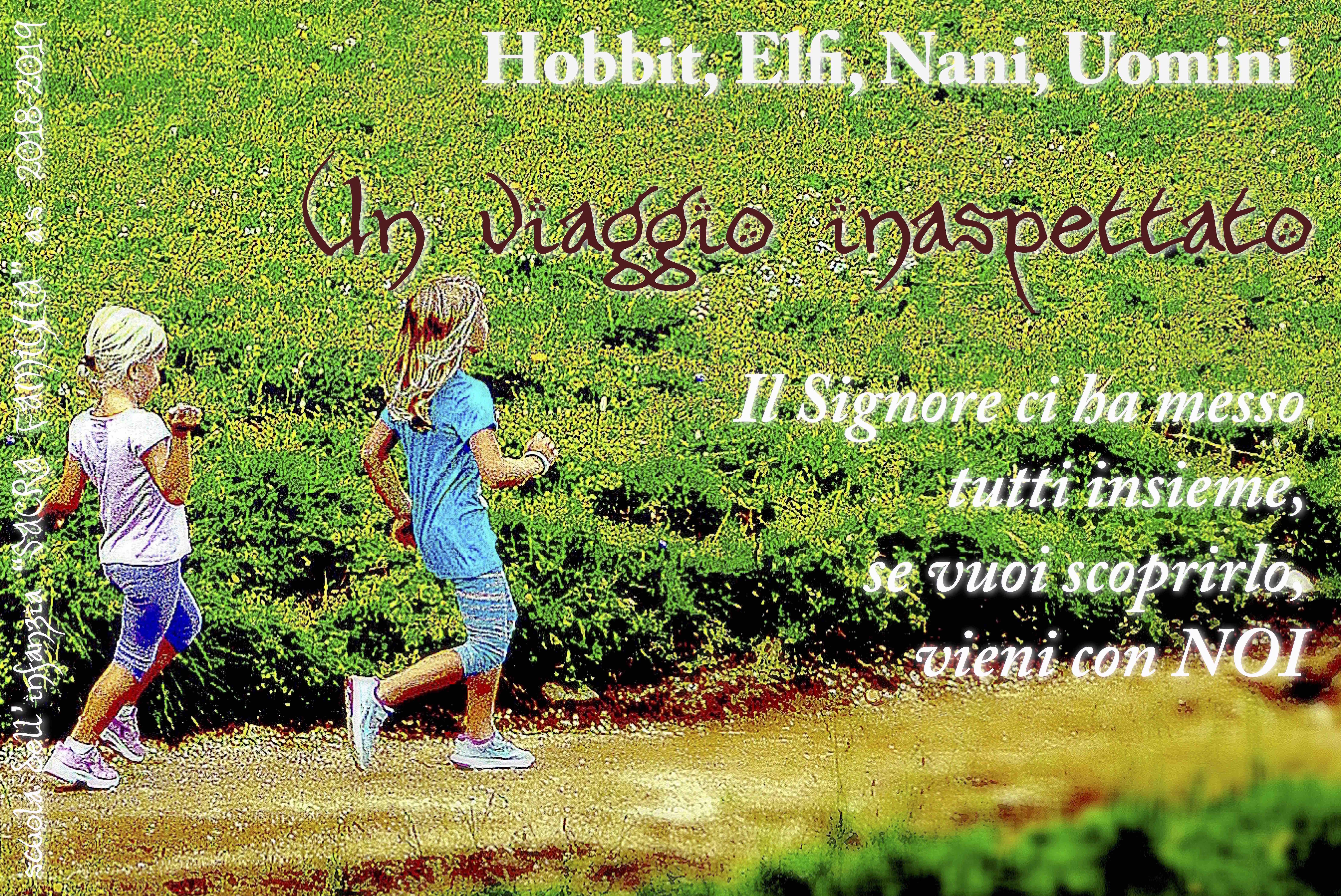 un viaggio inaspettato hobbit elfi nani uomini sacra famiglia