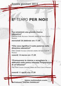 relatori dott.ssa Arioli, dott. Carosio, prof. Triani
