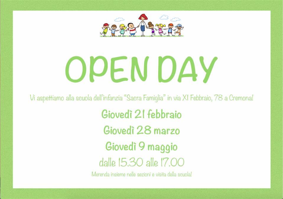 volantino open day 2